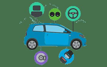 آپشن ها و تجهیزات خودرو